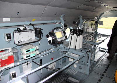 Two MED-kits in helicopter
