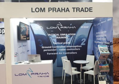 LOM PRAHA TRADE at Defence & Security fair