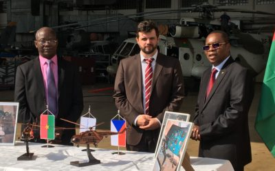 Ceremony for the handover of Mi-17 helicopters to Burkina Faso